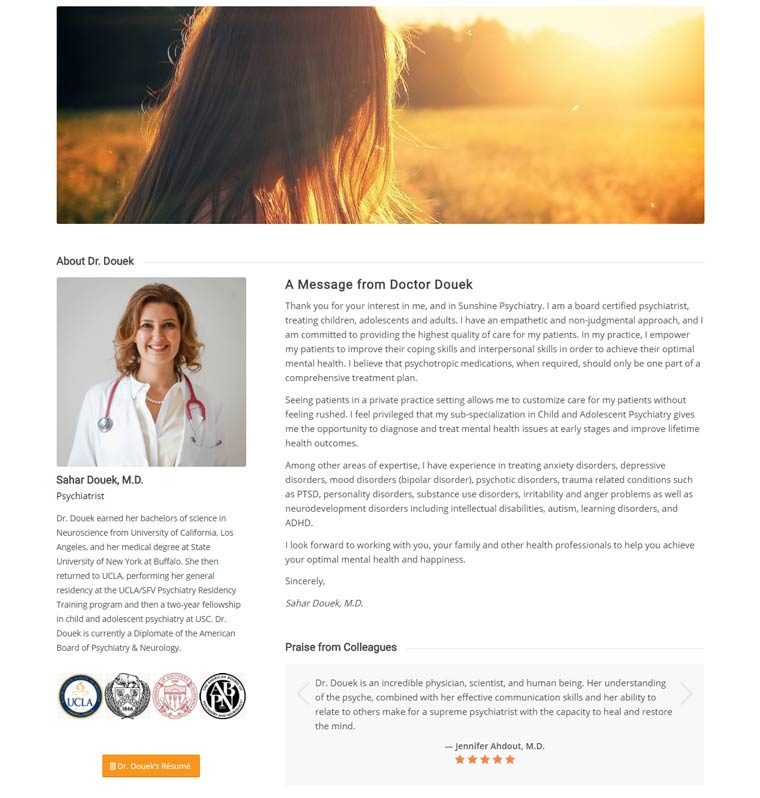 Sunshine Psychiatry and Branding by Speed of Like