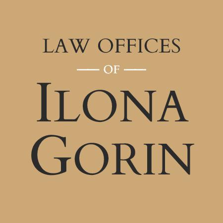 Ilona Gorin Law square logo reverse